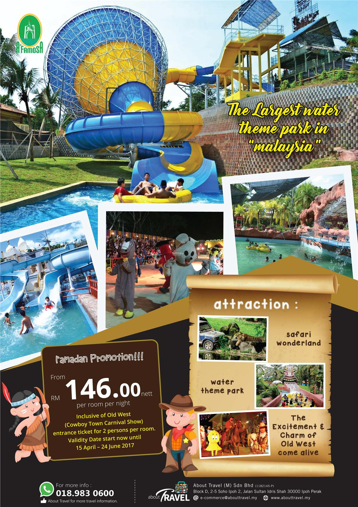 swot for melaka a famosa resort Check out our top free essays on visit at langkawi to help you write your own essay  meritus pelangi beach resort & spa langkawi,  kota a famosa,.