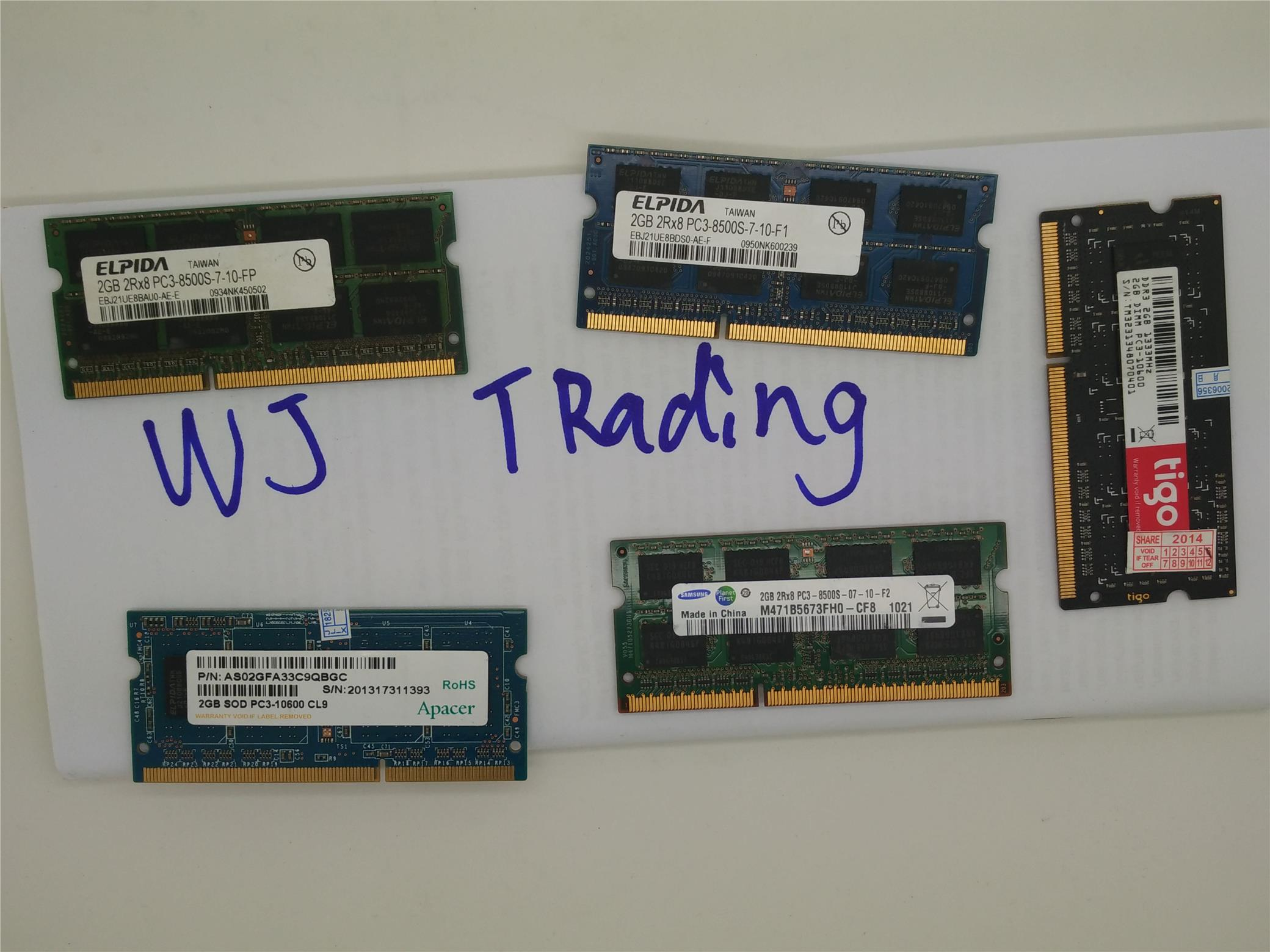 2GB DDR3 Laptop ram memory 1066mhz++ *LIMITED TIME OFFER*