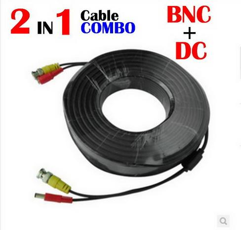 2in1 Cctv Cable DC COMBO BNC HEAD CONNECTOR
