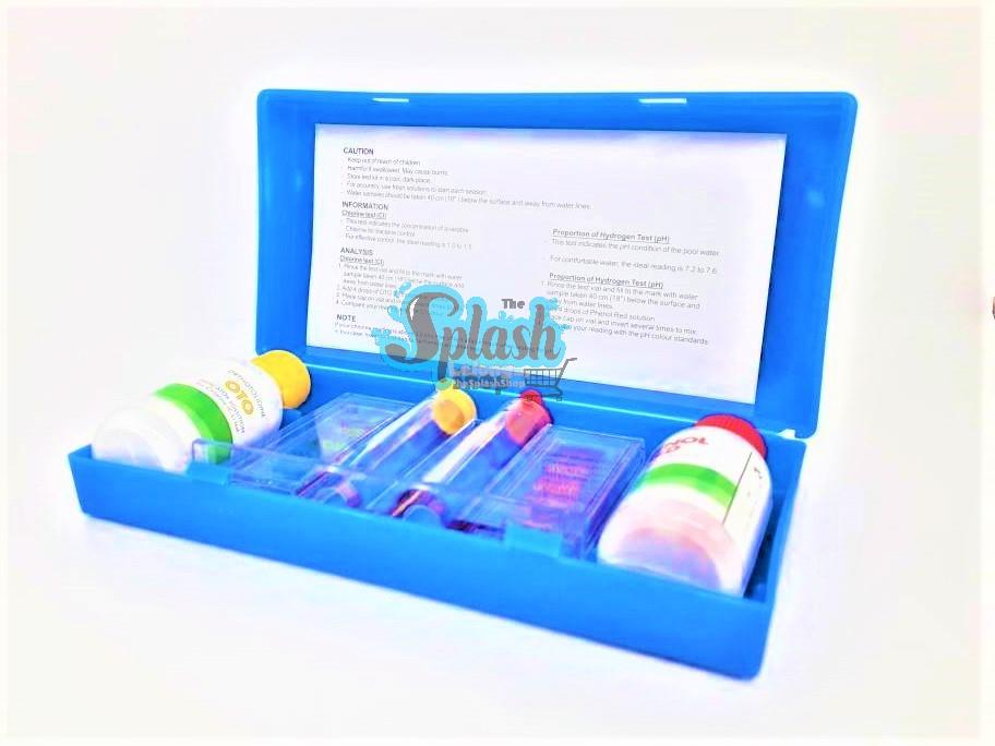 2in1 Test Kit with colour chart