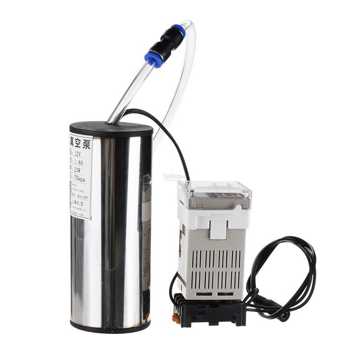 2L Portable Vacuum Pump Electric Milking Machine Milker Cow & Goat Mil