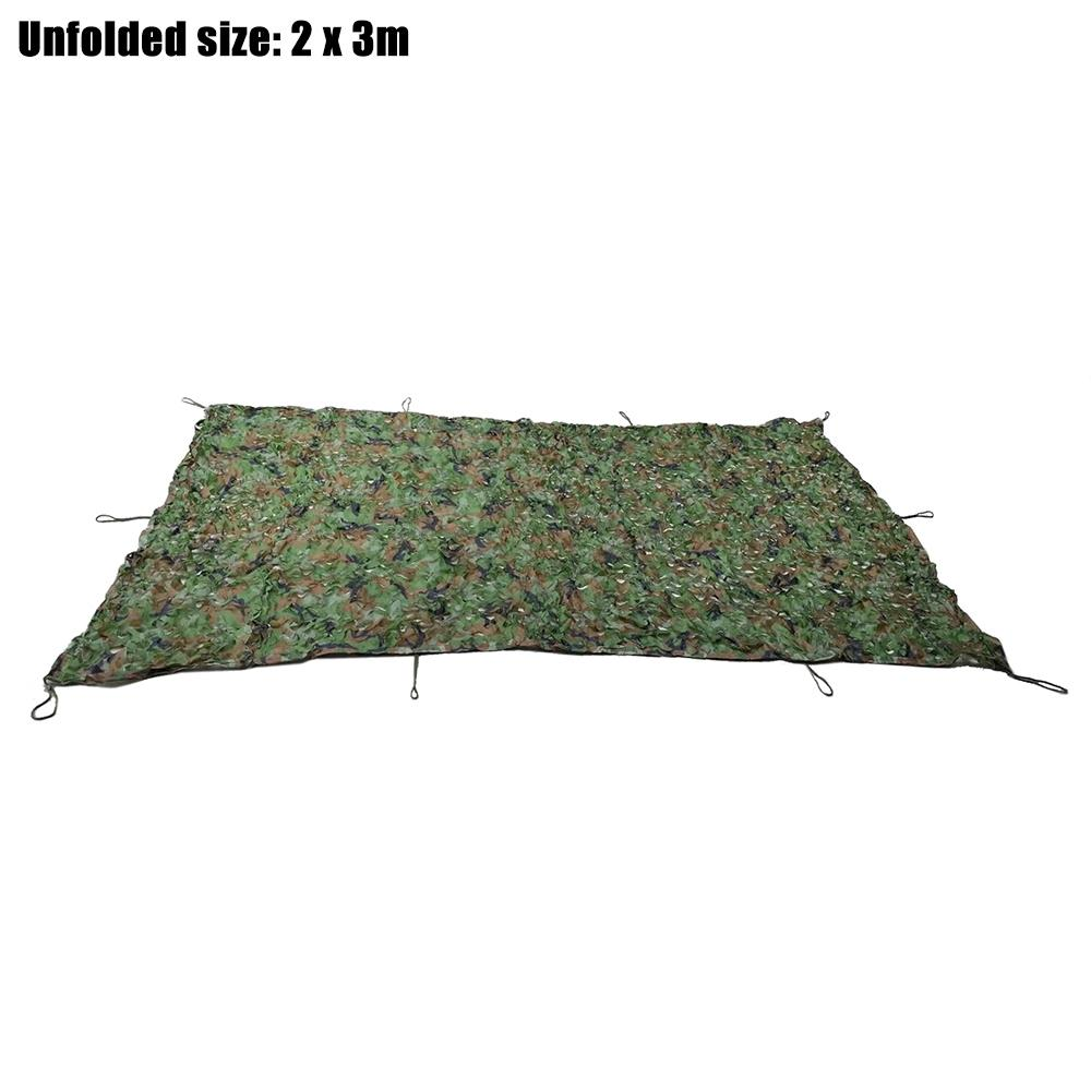 2M x 3M Woodland Military Hunting Camping Tent Car Cover Awning Shelte..