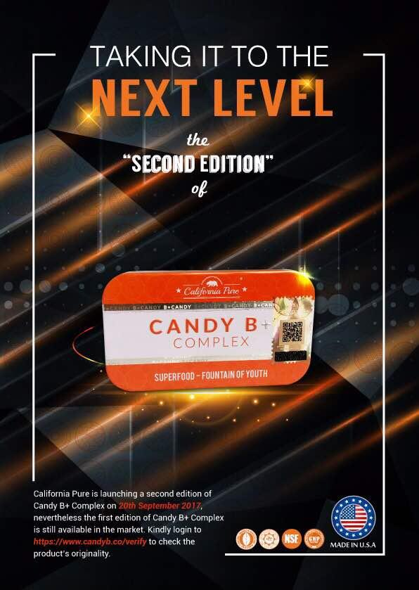 (2ND EDITION) B Complex Candy x 2 TIN