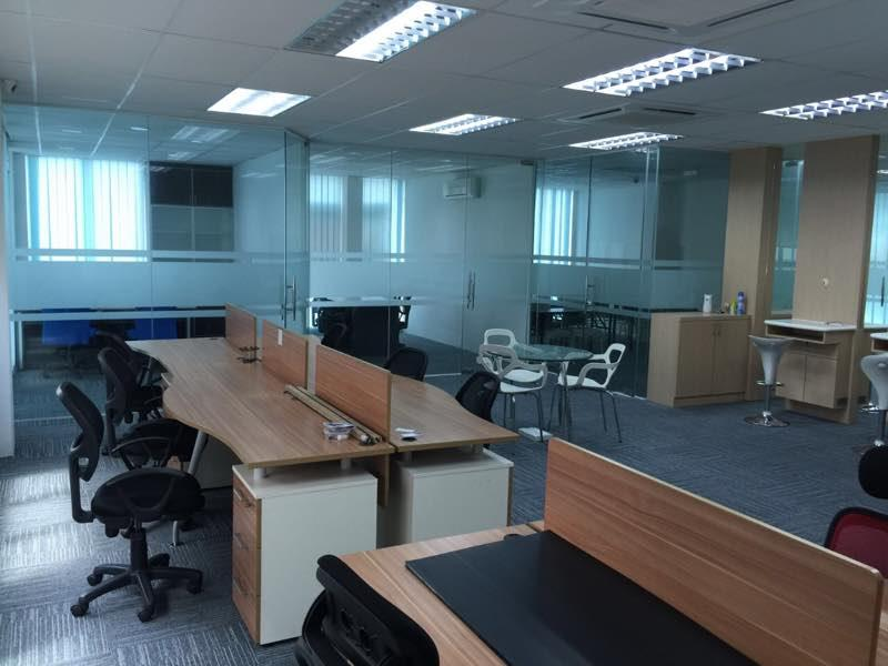 2nd Floor Shop Office for rent, Fully Furnished, Bandar Puteri,Puchong