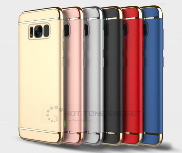 2nd Gen 3 IN 1 360 Full Protection Case Cover Samsung S8 S8Plus