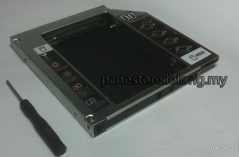 2nd SATA HDD Caddy for Laptop FREE SHIPPING