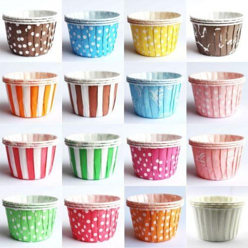Paper Cupcake Cups : Oz round polka dot cupcake liner m end  pm