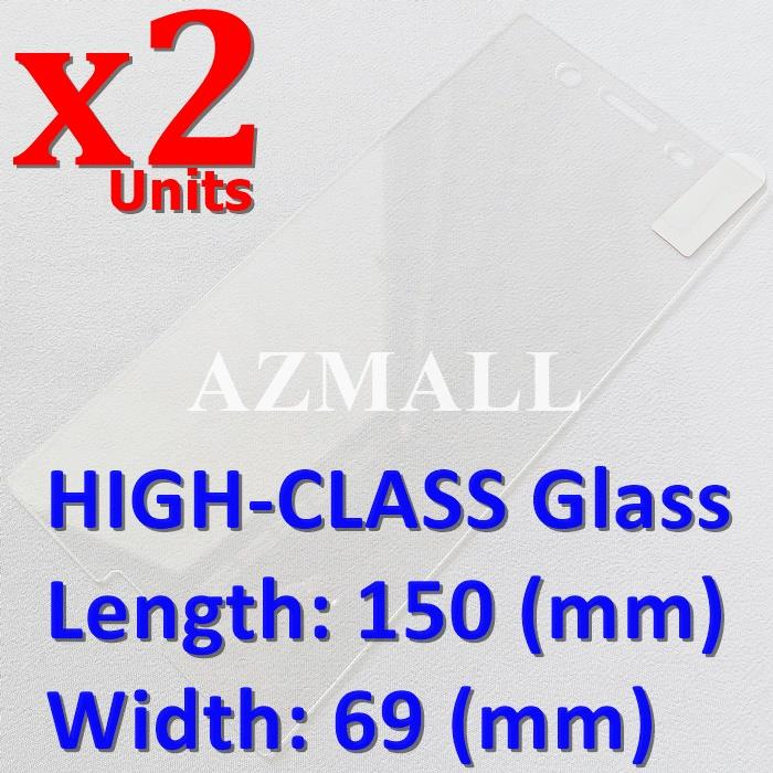 2PCS 2.5D BTX HIGH-CLASS Tempered Glass Screen Sony Xperia XZ Premium