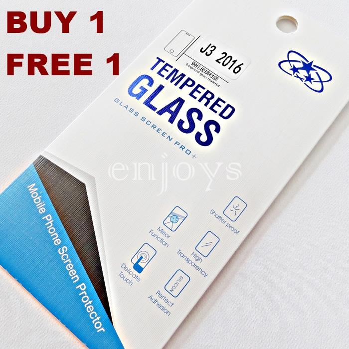 2PCS 2.5D Tempered Glass Screen Protector Samsung Galaxy J3 (2016) XPD