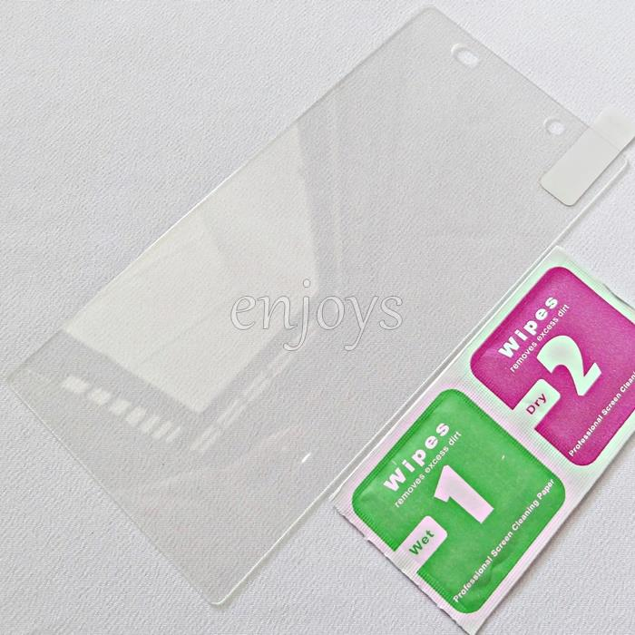 2PCS 2 5D Tempered Glass Screen Protector Sony Xperia Z2 D6502 D6503