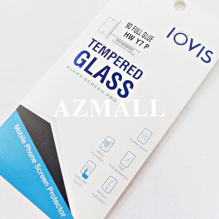 "2PCS 9D Full Glue Tempered Glass Screen Protector Huawei Y7p (6.39"")"