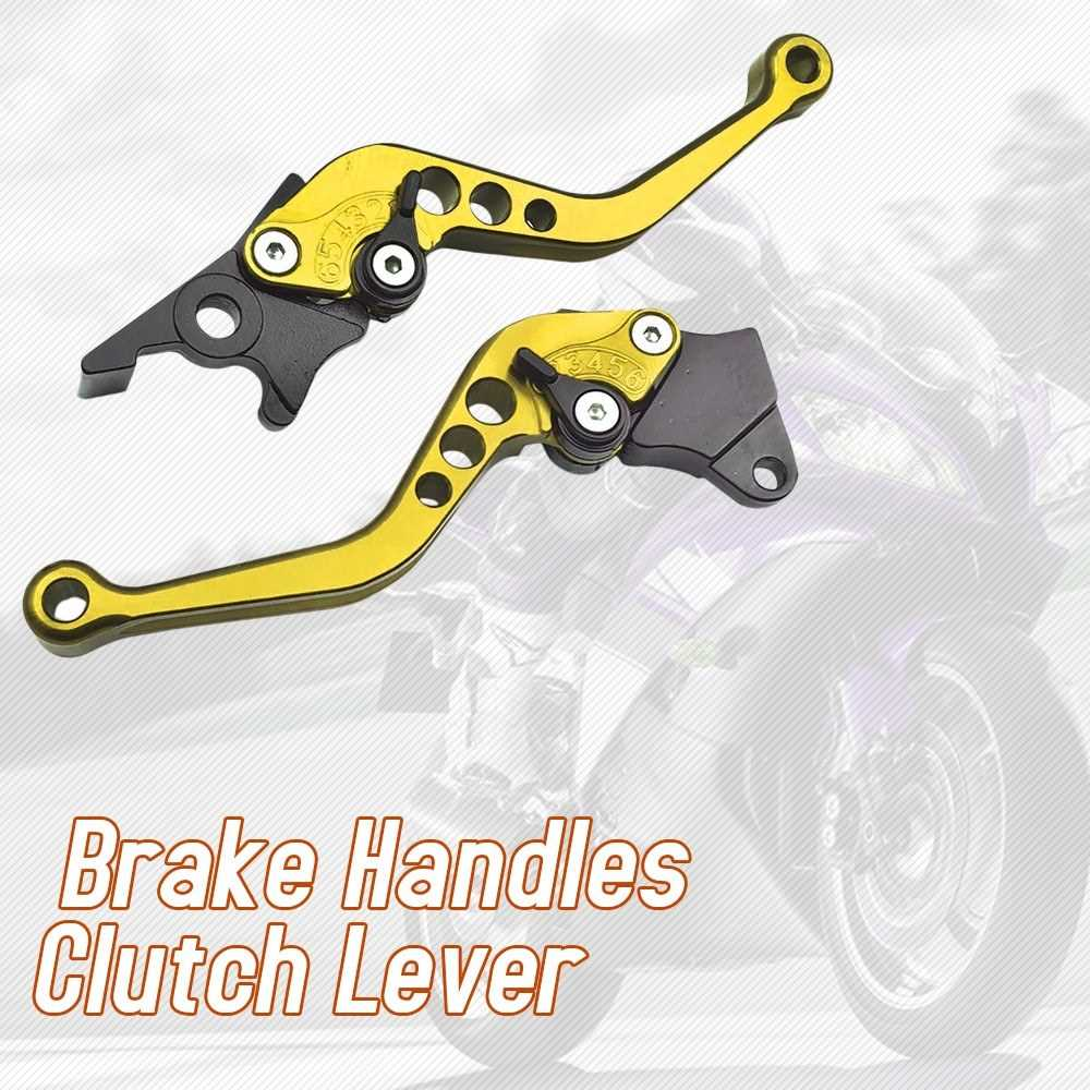 2pcs Alloy Motorcycle  / Electrical Bike Brake Handles Clutch Lever F