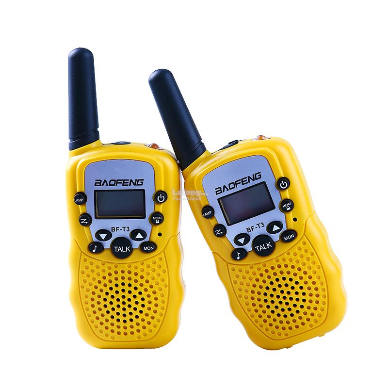 2Pcs Baofeng BF-T3 UHF462-467MHz 8 Channel Portable Two-Way 10