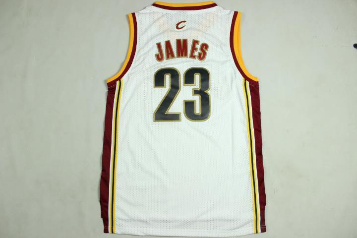 more photos c32be c522c ANY 2PCS Cleveland Cavaliers NBA LeBron James #23 Swingman Jersey