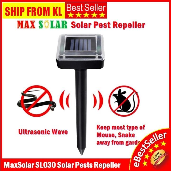 Best Ultrasonic Pest Repeller 2020.2pcs Maxsolar Solar Sl030 Ultrasonic Mouse Rat Bug Pest Mouse Repeller