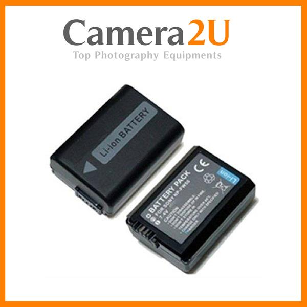 2pcs NP-FW50 Battery for Sony A7 A7R A7S A7 MK II MK2 Mark II 2 FW50
