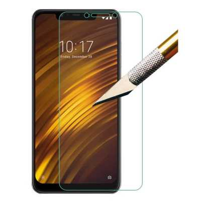 2PCS Screen Protector Protection Film HD Tempered Glass for Xiaomi Pocophone F
