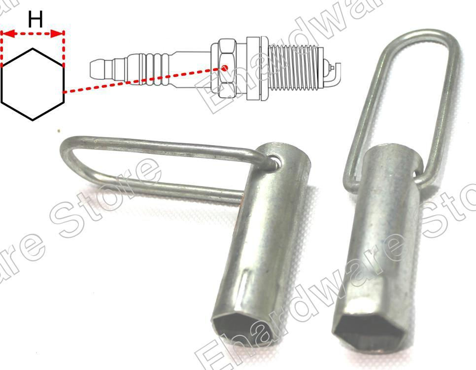 2Pcs Spark plug Wrench With Swivel Tommy Bar 3/4' & 13/16' (115721)