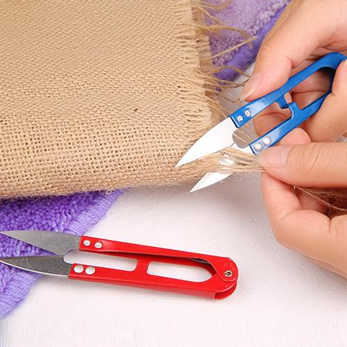 2pcs Of U Shape Spring Scissor For Sewing / Stitch