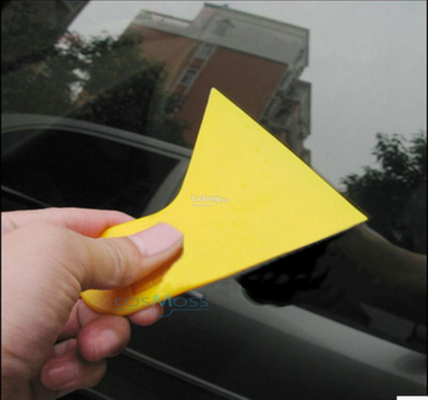 2PCS Yellow Small MR-05 SQUEEGEE (hard) 10cm x 12.2cm