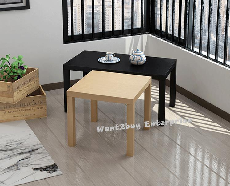Size Small Square Side Coffee Table End PM - Small square office table
