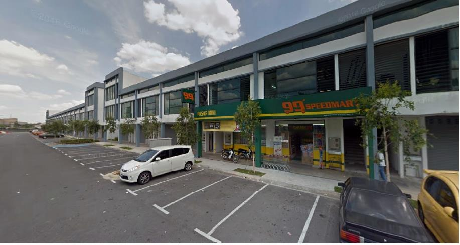2sty Shop office for sale, Ken Rimba Commercial Centre, Shah Alam