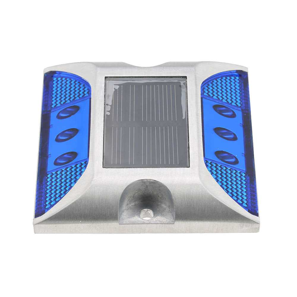 2W 6 LED Solar Power Driveway Lamp Light Control Good Bearing Capacity