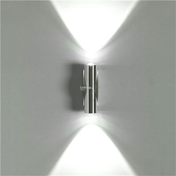 2W Day White LED Wall Light Up Down Lamp Sconce Mirror Spot lights