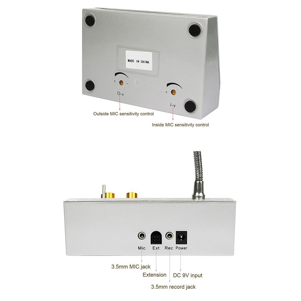 2w Dual Way Window Counter Intercom System For Bank Office Store Stati