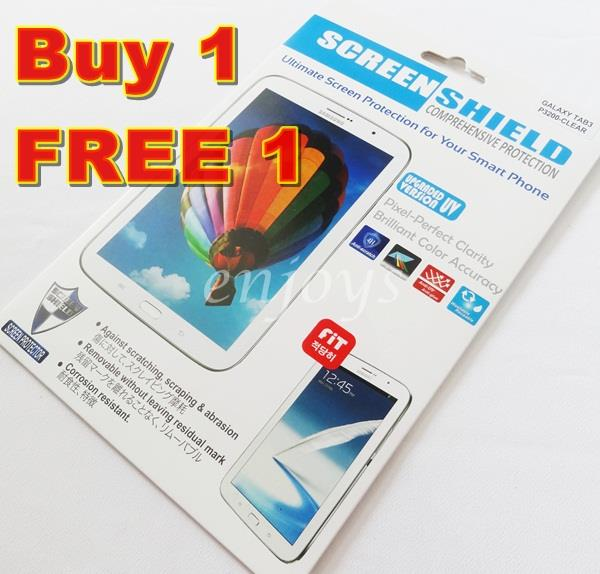 2x Clear LCD Screen Protector Samsung Galaxy Tab 3 7.0 P3200 T211