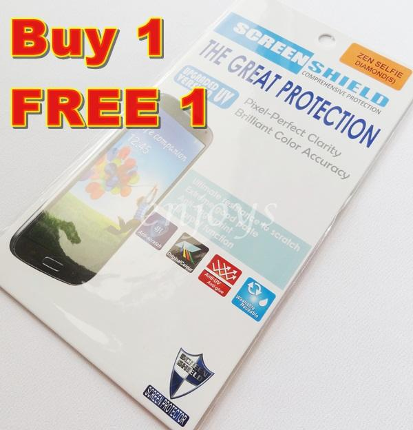 2x DIAMOND Clear 4H LCD Screen Protector ASUS ZenFone Selfie /ZD551KL