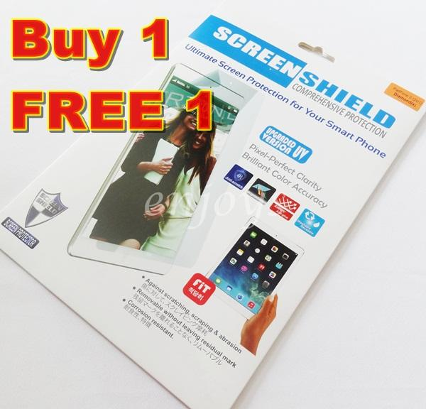 2x DIAMOND Clear LCD Screen Protector Asus Padfone S PF500KL ~2in1