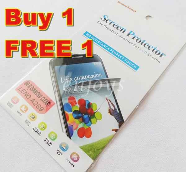 2x DIAMOND Clear LCD Screen Protector Lenovo A269 A269i Dual Sim