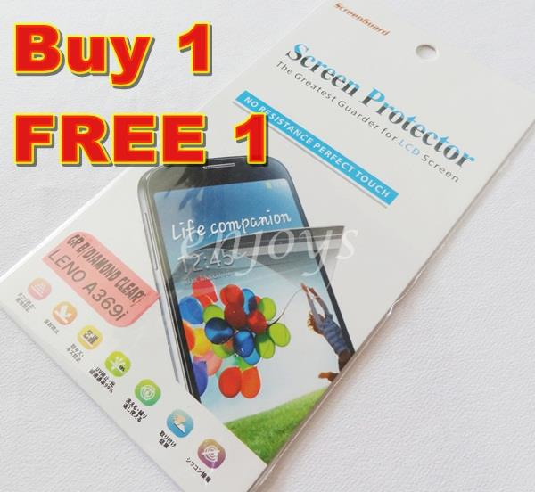 2x DIAMOND Clear LCD Screen Protector Lenovo A369 A369i Dual Sim