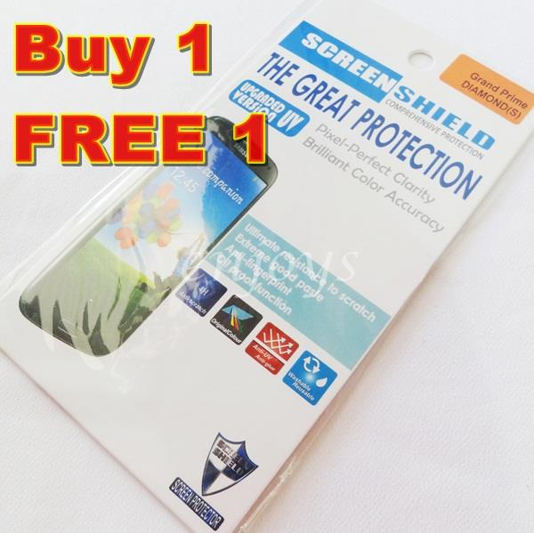 2x DIAMOND Clear LCD Screen Protector Samsung Galaxy Grand Prime G530H