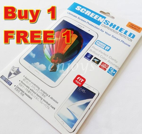 2x DIAMOND Clear LCD Screen Protector Samsung Galaxy Tab Active T365
