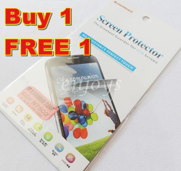 2x DIAMOND LCD Screen Protector Samsung Galaxy Note 3 Neo N7500 N7505