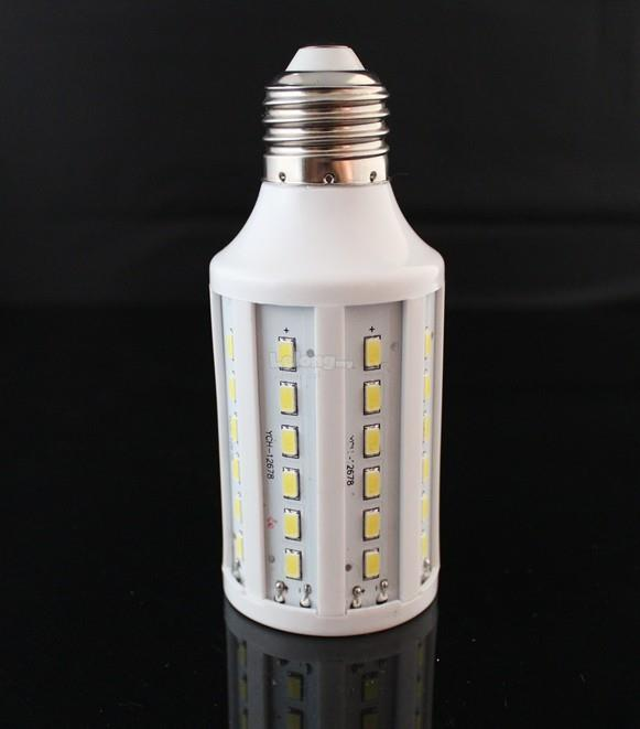 2X E27 15W-60-SMD5630-Pure White 2400LM LED Bulb