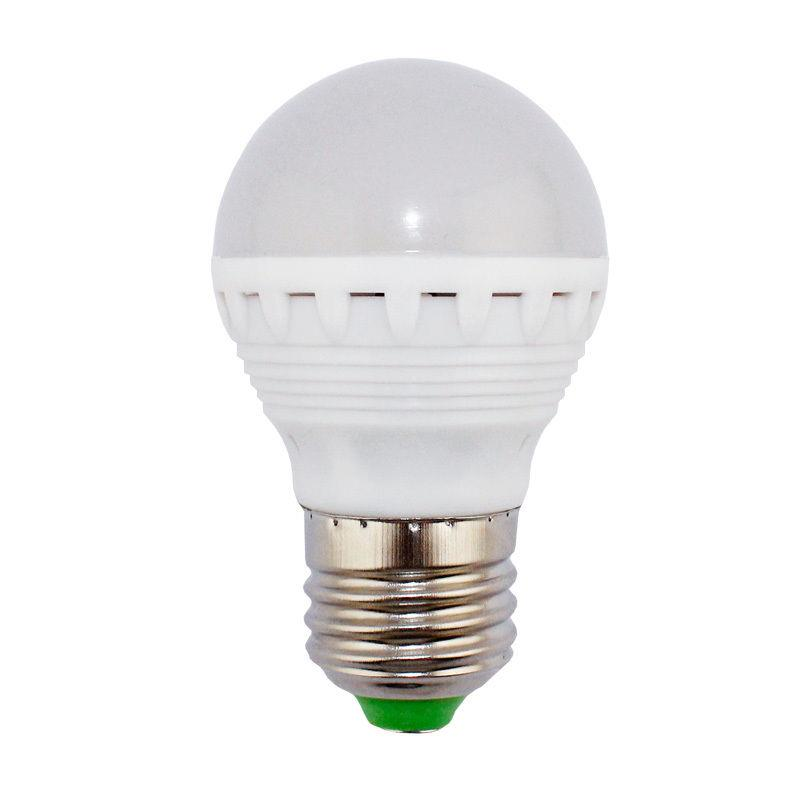 2X E27 4.3W-15-SMD5630-Pure White 600LM LED Bulb