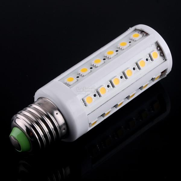 2X E27 8W-44-SMD5050-Warm White 880 LM LED Bulb