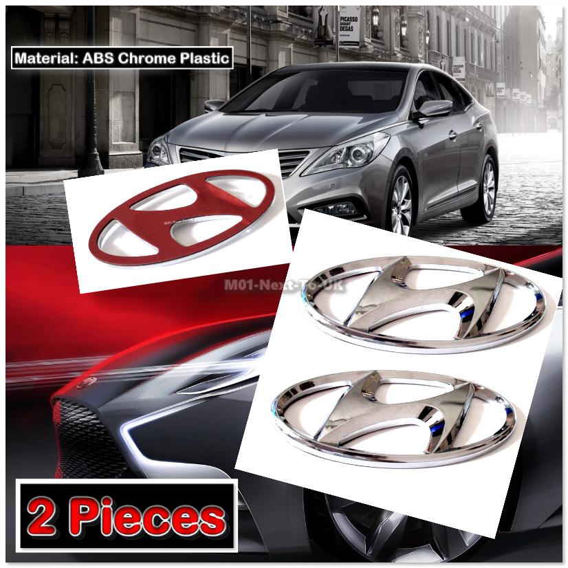2x Hyundai 3d Chrome Car Badge Dec End 4 25 2019 10 43 Am