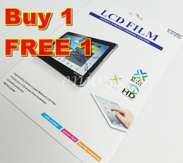 2x MATTE Anti Scratch LCD Screen Protector Sony Xperia Z2 Tablet
