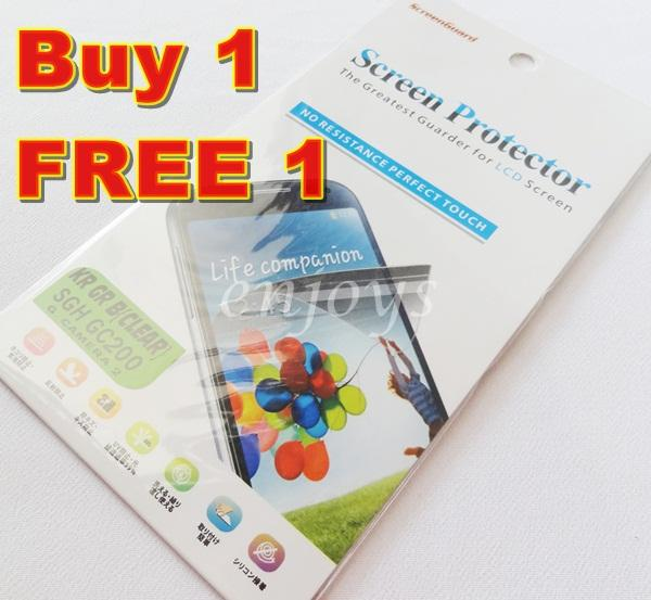 2x Ultra Clear LCD Screen Protector Samsung Galaxy Camera 2 GC200