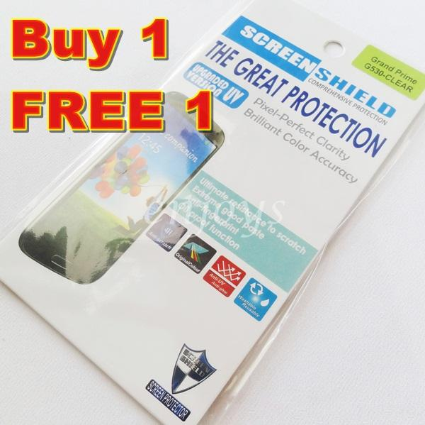 2x Ultra Clear LCD Screen Protector Samsung Galaxy Grand Prime G530H