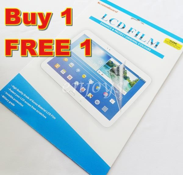 2x Ultra Clear Screen Protector Samsung Galaxy Tab 2 10.1 P5100 /N8000