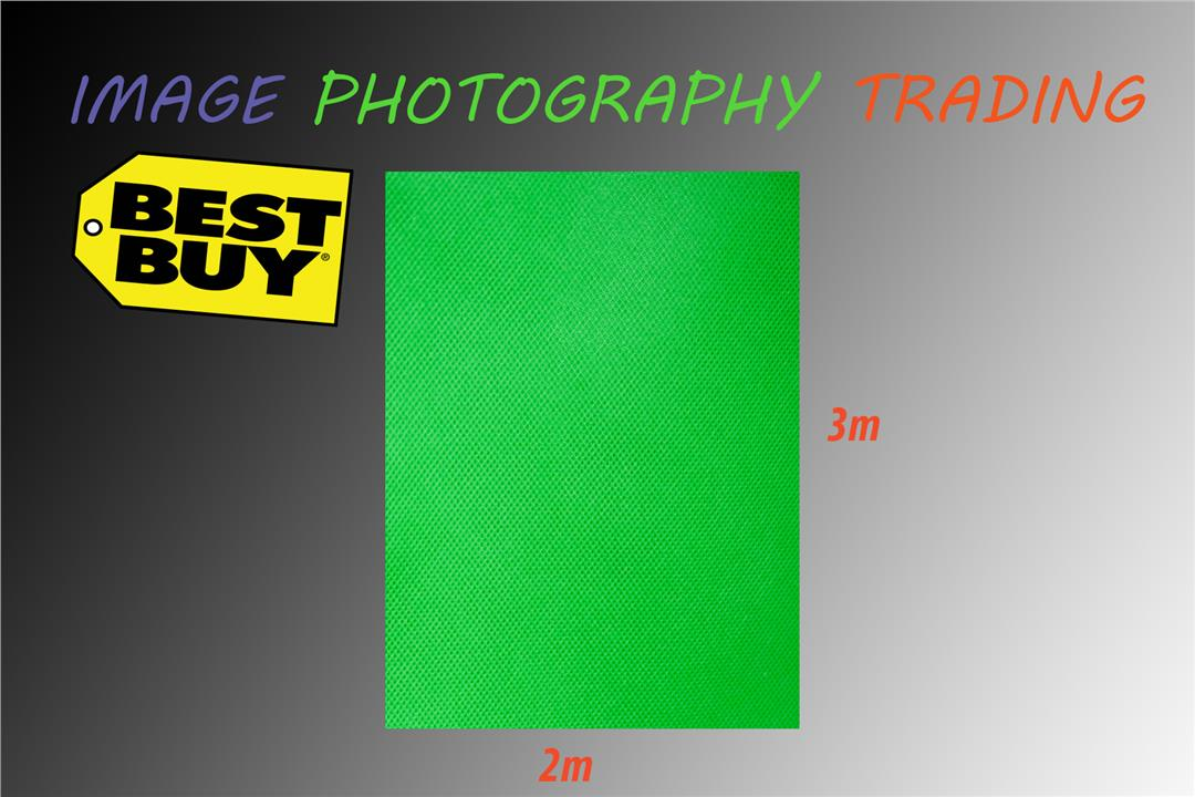 2x3m Green Non-woven Fabric Photo Photography Backdrop Background. ‹ ›