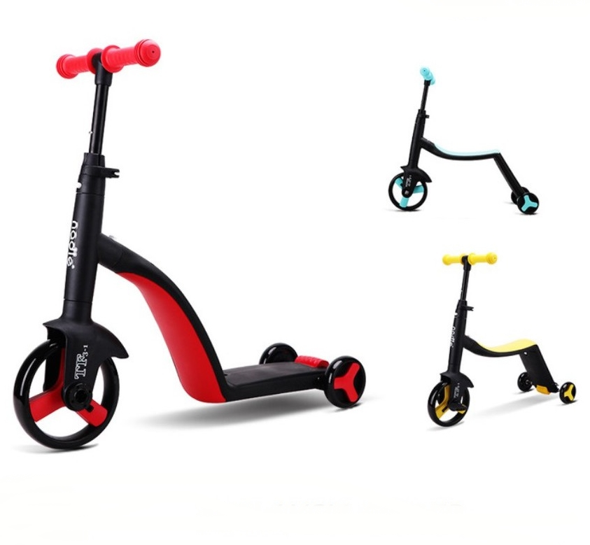 3 IN 1 Baby Children Bike Balance Car Scooters Tricycle 2-6 Years