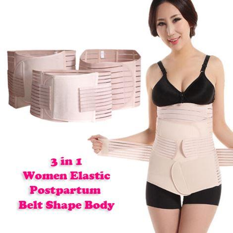 3 in 1 belt shape body bengkung ready ( size : M,L,XL or XXL )