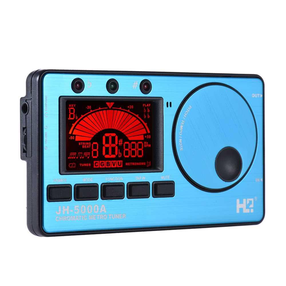 3 in 1 Electronic Digital Tuner Metronome Tone Generator Built-in Mic  Tuning L