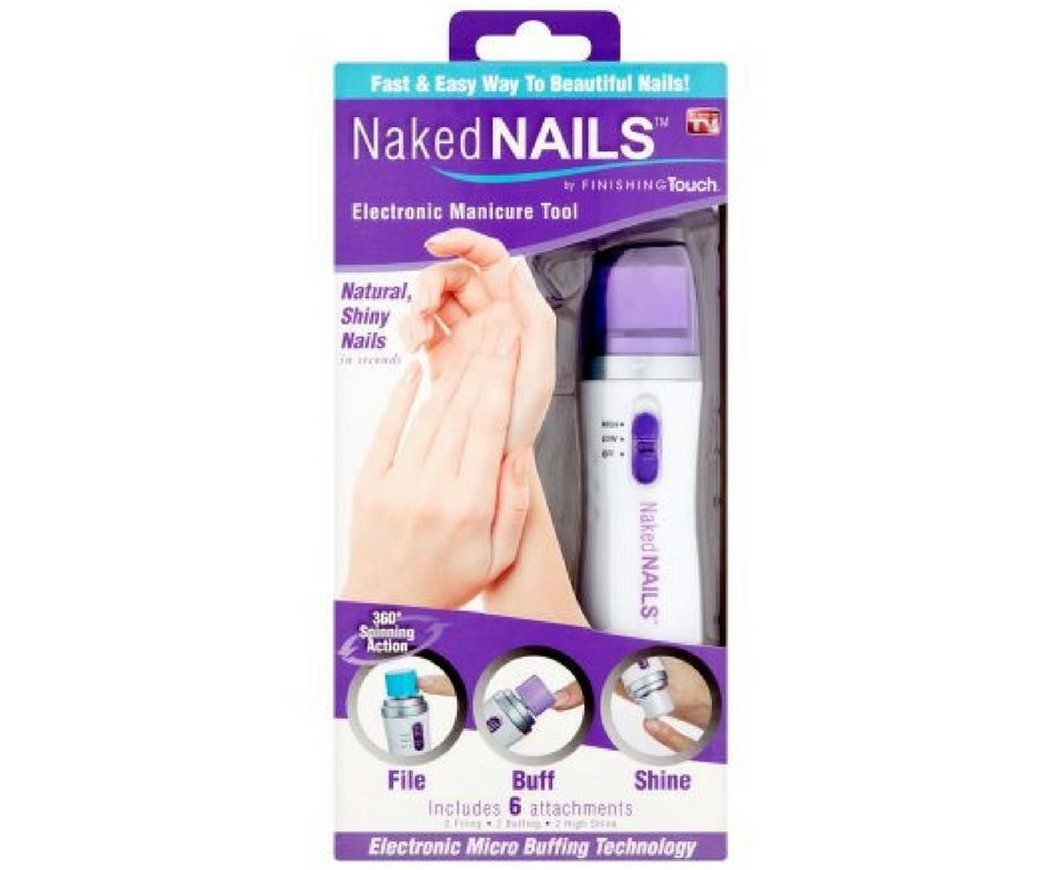 3 In 1 File/Buff/Shine Naked Nail El (end 8/29/2018 3:12 PM)
